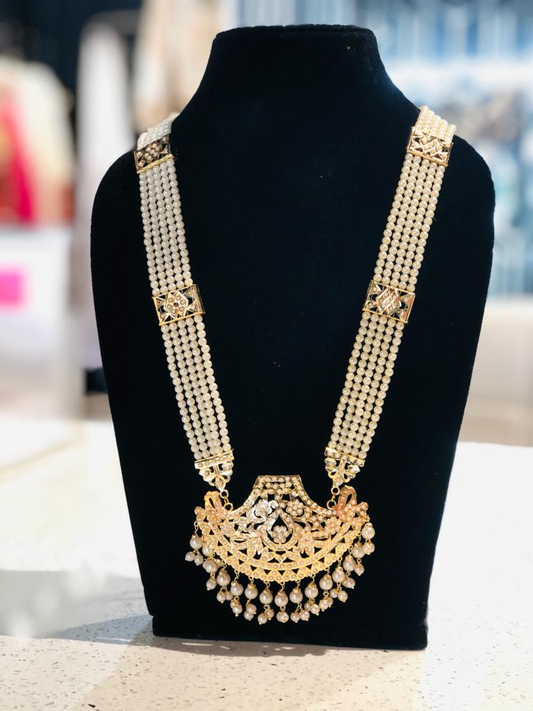 Long Kundan Necklace