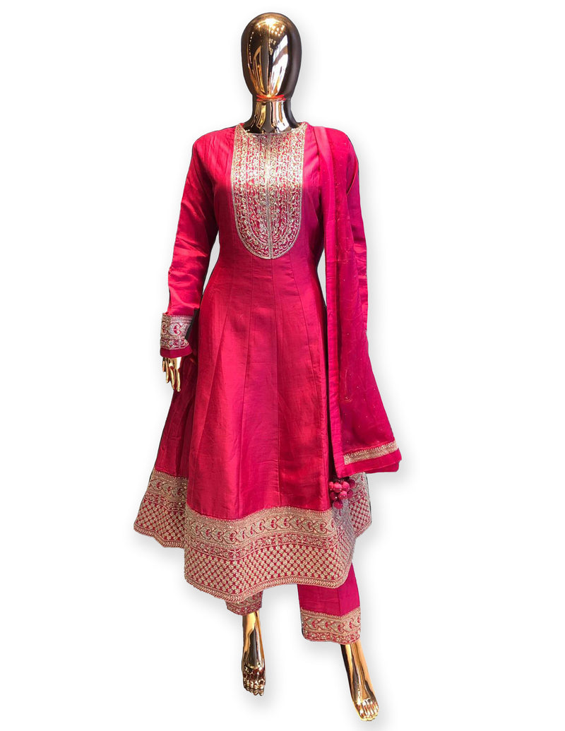 Anarkali Suit with Palazzo
