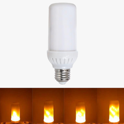LED Flame Effect Fire Light Bulbs - Best Seller - Black Friday Special - Deal Ends Soon