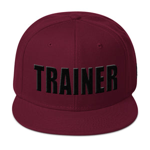 Personal Trainer Solid Colored Snapback Otto Hat (More Colors Available)