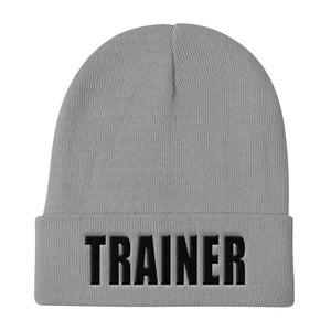 Personal Trainer Solid Colored Knit Beanie (More colors available)