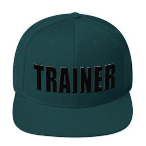 Personal Trainer Solid Colored Snapback Hat (More colors available)
