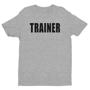Personal Trainer Solid Color Short Sleeve T-shirt (More colors available)