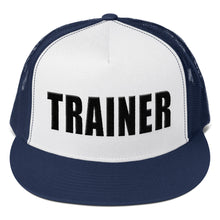Load image into Gallery viewer, Personal Trainer Two Toned Truckers Hat (more colors available)