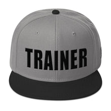 Load image into Gallery viewer, Personal Trainer Two Toned Snapback Otto Hat (More colors available)