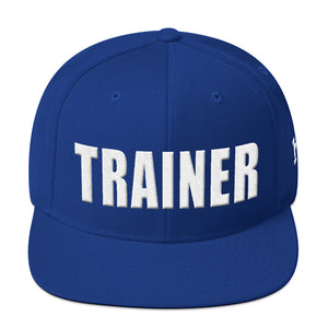 Personal Trainer Snapback Hat (Solid Colors)