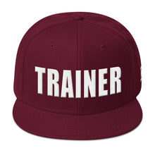 Load image into Gallery viewer, Personal Trainer Snapback Otto Hat (More colors available)