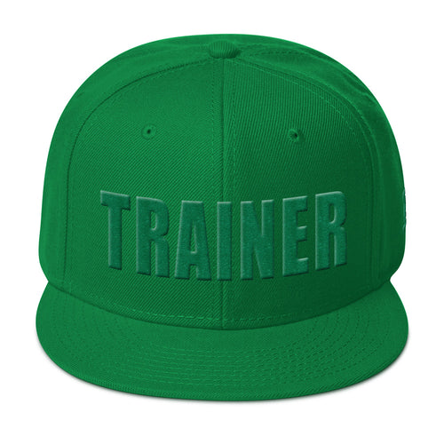 Personal Trainer Green Snapback Otto Hat