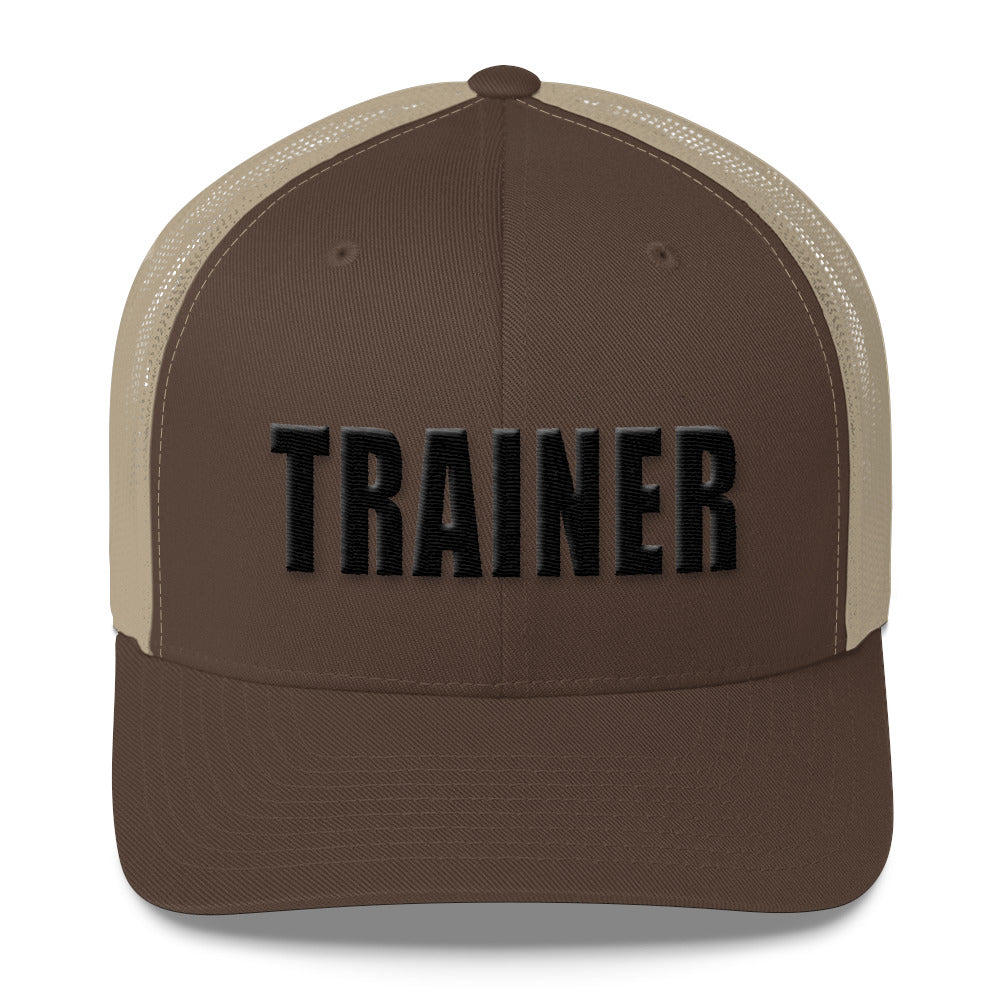 Personal Trainer Two Toned Truckers Hat (More colors available)