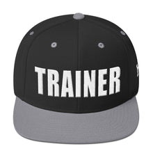 Load image into Gallery viewer, Personal Trainer Two Toned Snapback Hat (More Colors Available)