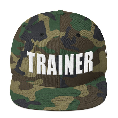 Personal Trainer Camouflage Snapback Hat