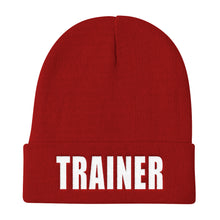 Load image into Gallery viewer, Personal Trainer Solid Colored Knit Beanie (More colors available)