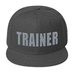 Personal Trainer Charcoal Gray Snapback Otto Hat