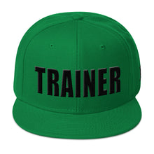 Load image into Gallery viewer, Personal Trainer Solid Colored Snapback Otto Hat (More Colors Available)