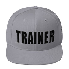 Load image into Gallery viewer, Personal Trainer Solid Colored Snapback Hat (More colors available)