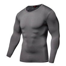Load image into Gallery viewer, Quick Dry Bodybuilding Compression Shirt Long Sleeve