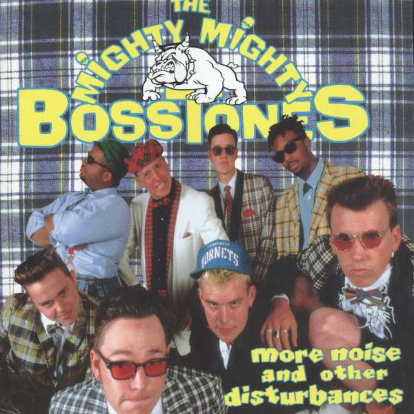 THE MIGHTY MIGHTY BOSSTONES 'More Noise And Other Disturbances' LP / COLORED
