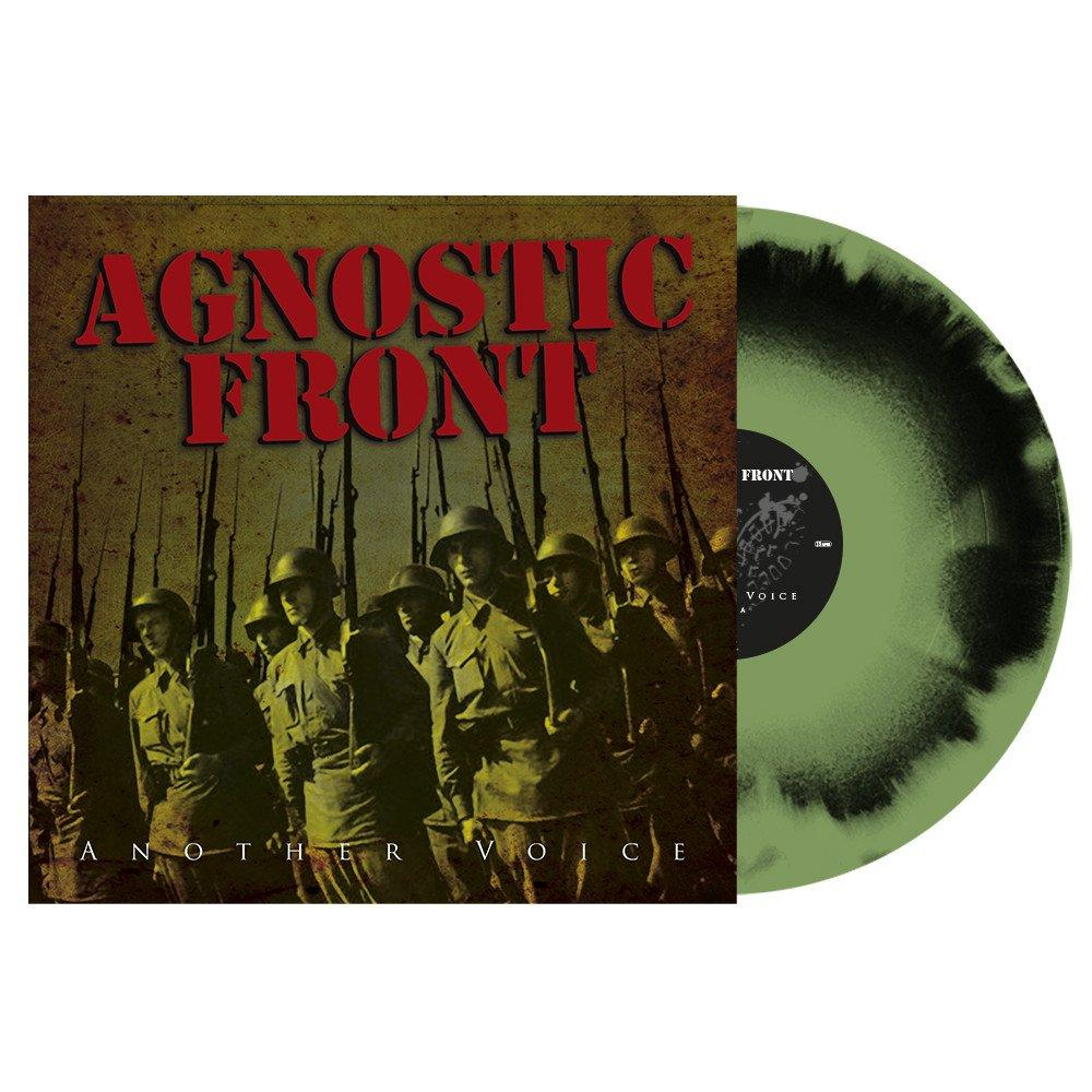 AGNOSTIC FRONT 'Another Voice' LP / GREEN/BLACK SWIRL VINYL, LIMITED EDITION!