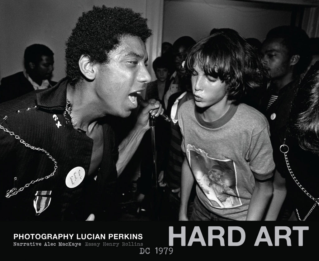 A. MACKAYE / L. PERKINS: 'HARD ART, DC 1979' - Book