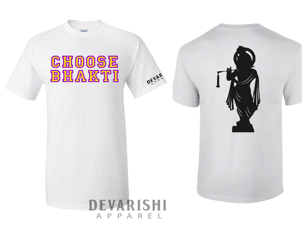 DEVARISHI 'Choose Bhakti' T-Shirt