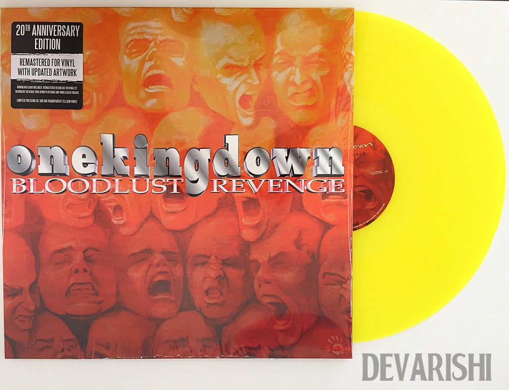 "ONE KING DOWN 'Bloodlust Revenge' 20th Anniversary Edition 12"" / YELLOW EDITION"