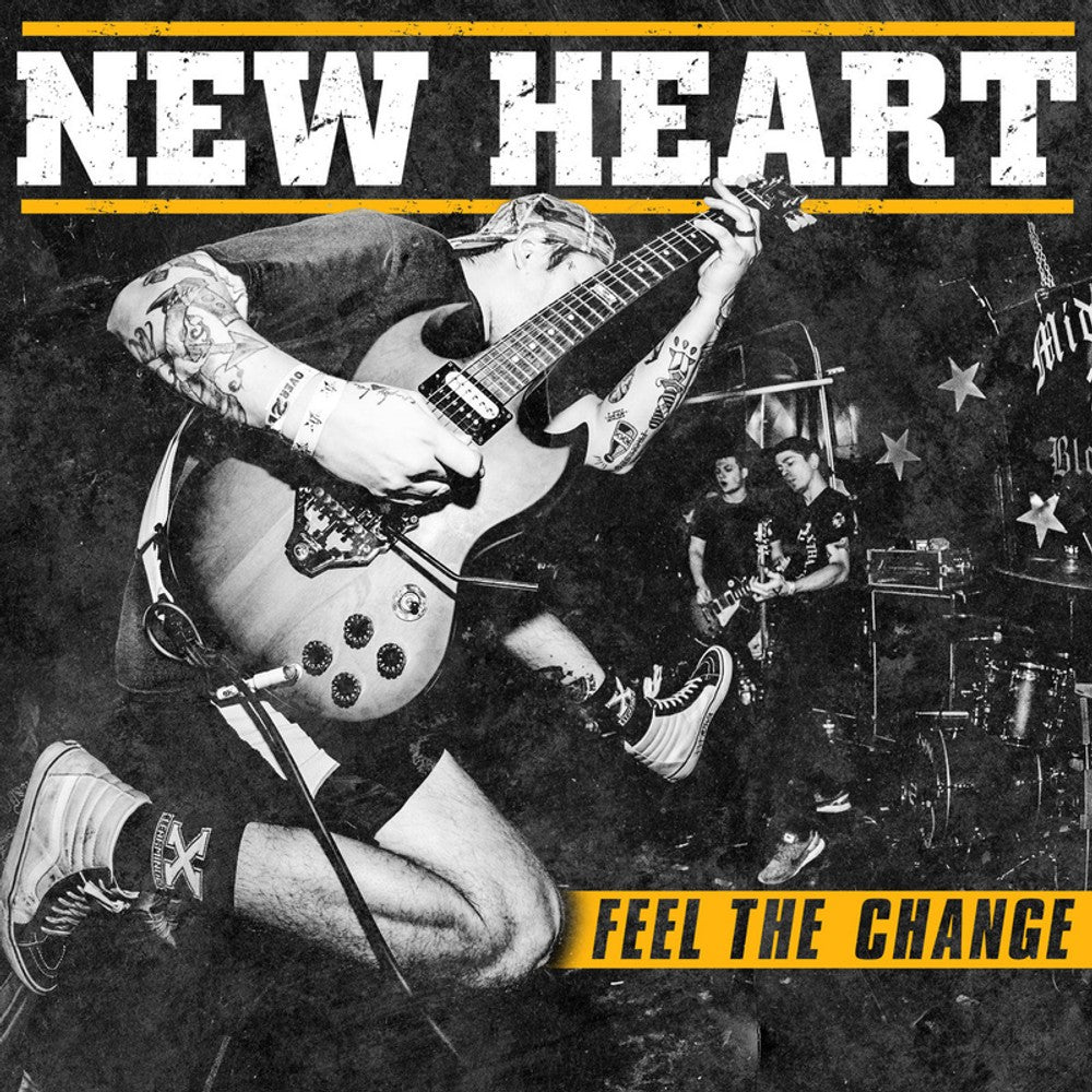 NEW HEART 'Feel The Change' LP
