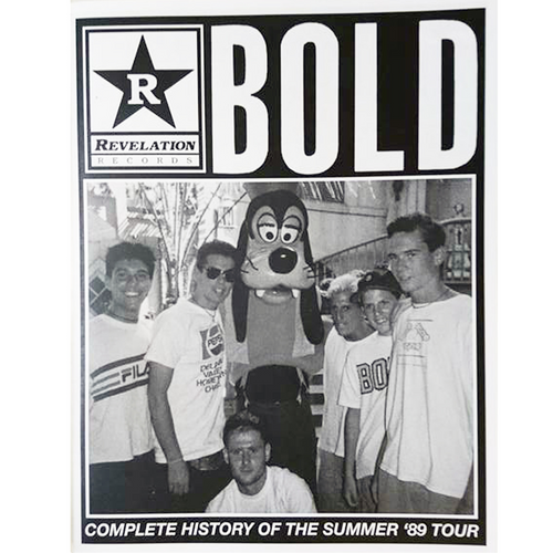 BOLD: Complete History Of The Summer '89 Tour - Fanzine