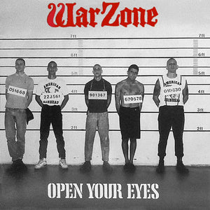 WARZONE  'Open Your Eyes' LP / RED EDITION, GREY EDITION, BLUE EDITION