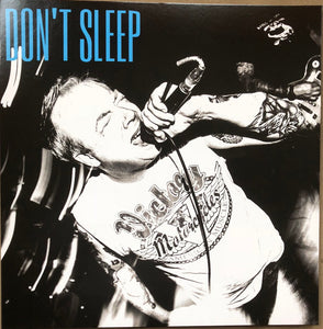 "DON'T SLEEP 's/t' 12"" / YELLOW EDITION"