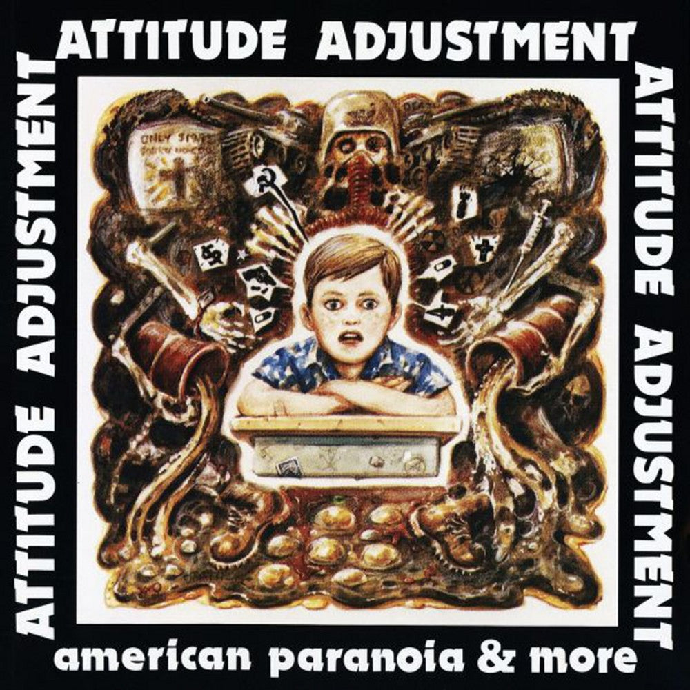 ATTITUDE ADJUSTMENT 'American Paranoia & more' LP + DVD