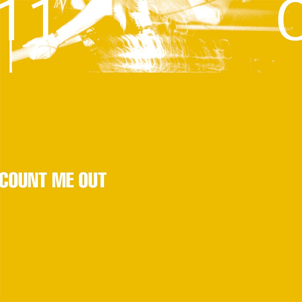 COUNT ME OUT '110' LP / YELLOW MARBLE MUSTARD EDITION