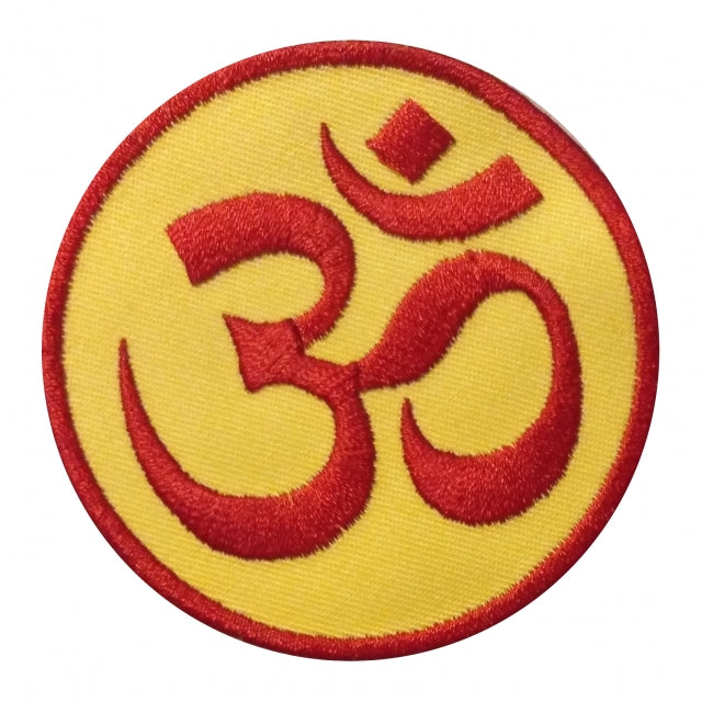 OM Patch / yellow - red