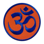 OM Patch / blue - orange