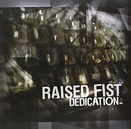 RAISED FIST 'Dedication' LP / LIMITED SILVER EDITION