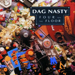 PRE-ORDER: DAG NASTY 'Four On The Floor' LP / YELLOW EDITION REPRESS!