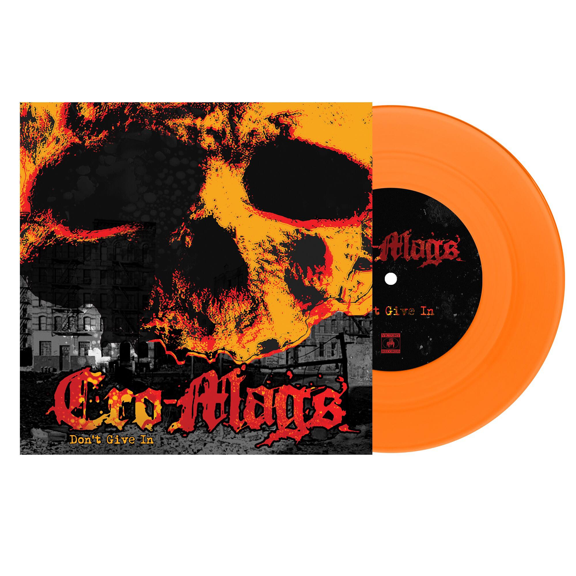 "CRO-MAGS 'Don't Give In' 7"" / COLORED EDITIONS"