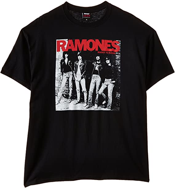 RAMONES 'Rocket To Russia' T-Shirt (2ndChance)