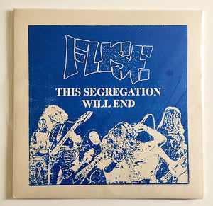 "FUSE 'This Segregation Will End' EP 12"" / BLUE EDITION"
