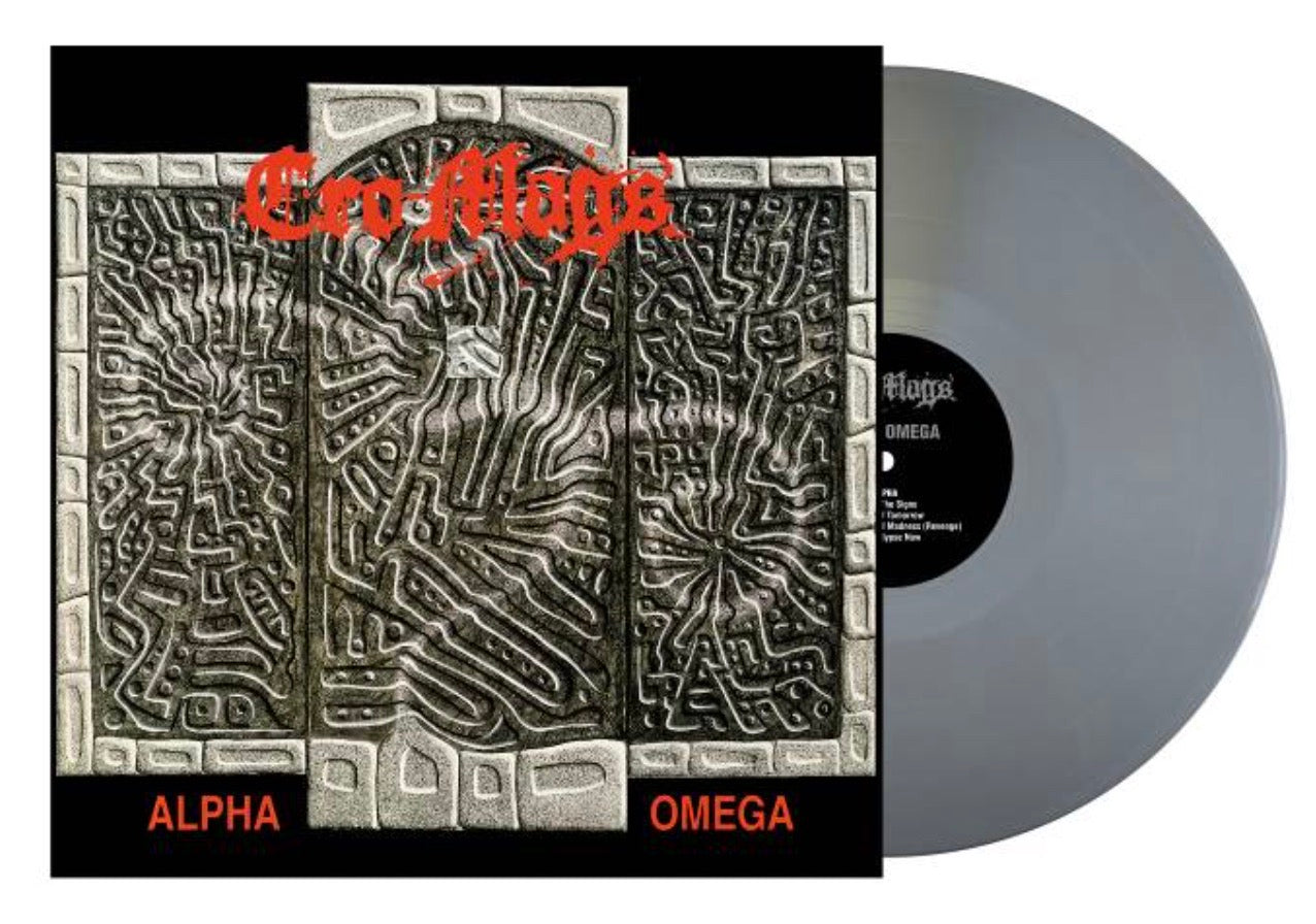 CRO-MAGS 'Alpha Omega' LP / GREY EDITION