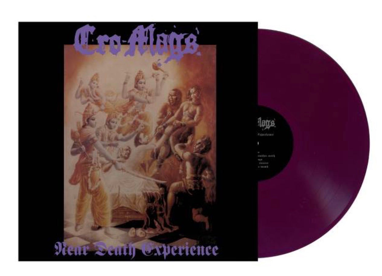 CRO-MAGS 'Near Death Experience' LP / PURPLE EDITION