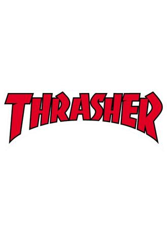 THRASHER 'Logo' Sticker