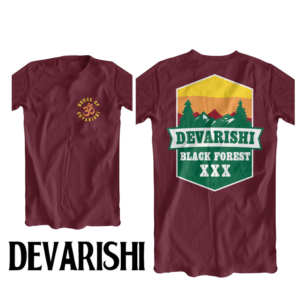 DEVARISHI 'Black Forest' T-Shirt