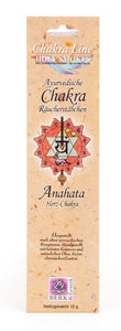 AYURVEDIC CHAKRA 'Anahata / Heart' Incense Sticks