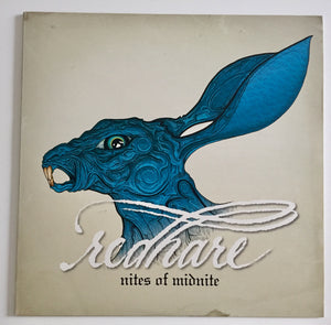 RED HARE 'Rites OF Midnight' LP / TRANSPARENT BLUE EDITION