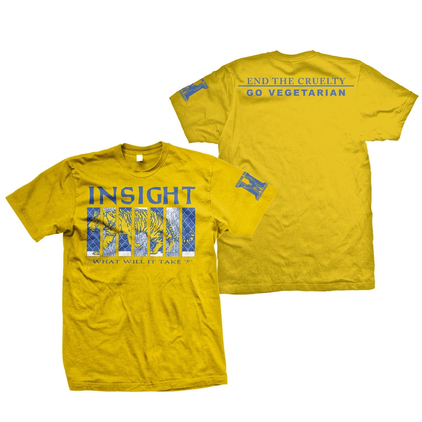 INSIGHT 'End The Cruelty' T-Shirt