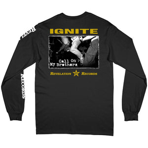 PRE-ORDER: IGNITE 'Call On My Brothers' Longsleeve / BLACK