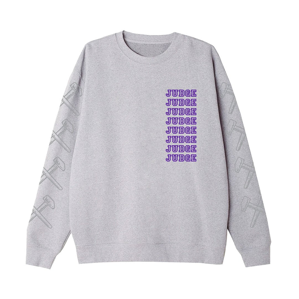 PRE-ORDER: JUDGE 'New York Crew' Crewneck Sweatshirt / GREY