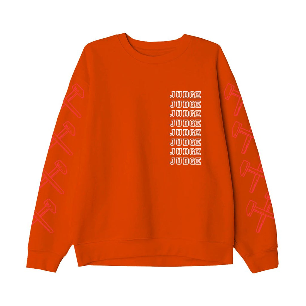 PRE-ORDER: JUDGE 'New York Crew' Crewneck Sweatshirt / ORANGE