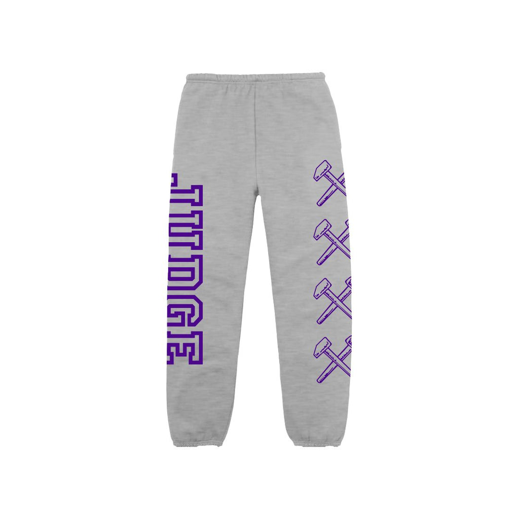 PRE-ORDER: JUDGE 'Logo' Sweatpants / GREY