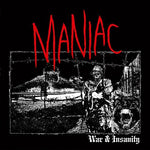 MANIAC 'War & Insanity' LP / COLORED EDITION